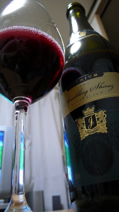 スパークリングワインの赤